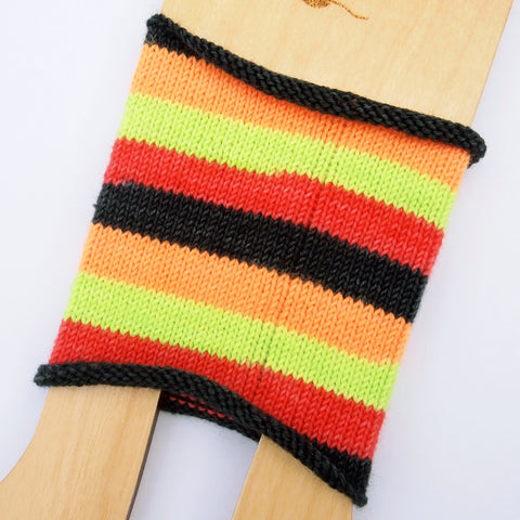 Self-Striping Sock - Raw Like Sushi