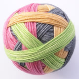 Self-Striping Sock - Snapdragon Ran