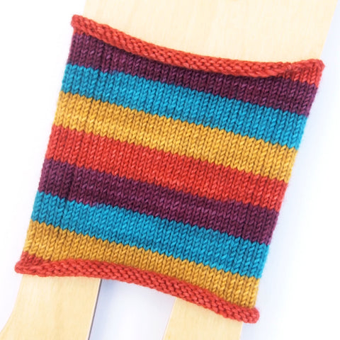 Self-Striping Sock - Tavern Fall
