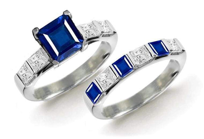Celebrity gemstone wedding bands