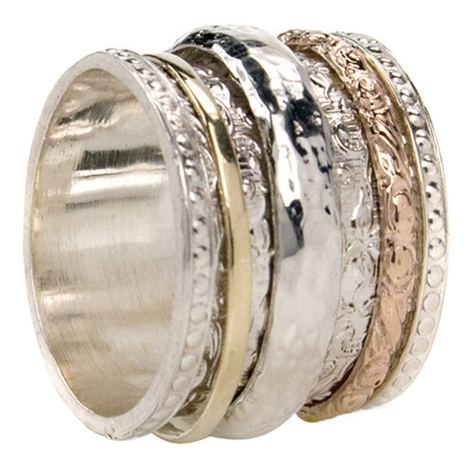 Say good bye to your worries with Spinner Rings