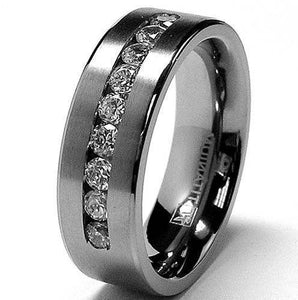 Tungsten bands stylish designs for men