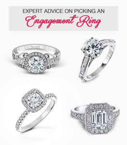Expert advice on Picking an engagement ring/ Wedding bands/ New trends