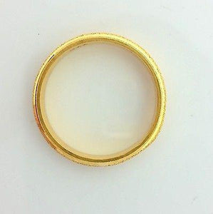 22k Solid Gold Ring Size 10.75 custom size available with unique box 200 - Royal Dubai Jewellers