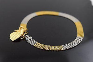 22k 22ct Solid Gold ELEGANT Bracelet  with box length 7 Inch Cb218 - Royal Dubai Jewellers