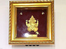 3D RAISED 24kt Solid Gold Hindu Religious God SHRI GANESH Ganpati Statue Idol - Royal Dubai Jewellers