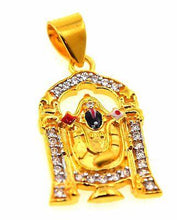 22k 22ct Solid Gold SOUTH Religious Lord Tirupati Bala ji pendant p511 - Royal Dubai Jewellers