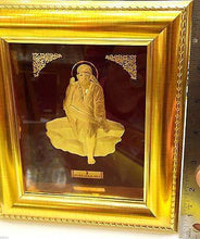 3D RAISED 24kt Solid Gold Hindu ASHTADHATU SHIRDI SAI BABA Sairam Idol Statue - Royal Dubai Jewellers