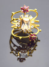 22k 22ct Solid Gold Elegant Ruby Ring Available With Unique Box R16 - Royal Dubai Jewellers
