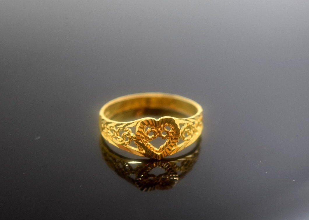 22k 22ct Solid Gold Elegant BAND Ring size 6.7