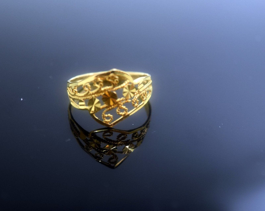 22k 22ct Solid Gold Elegant BAND Ring size 7.5