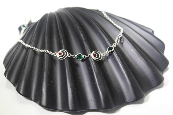 1PC HANDMADE  Solid Silver Payal 925 sbb48 Sterling adult ladies Anklets - Royal Dubai Jewellers