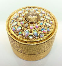 "22k 22ct Solid Gold ELEGANT SOLITAIRE STONE FLOWER Ring Box ""RESIZABLE"" R529 - Royal Dubai Jewellers"