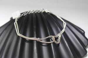 1PC HANDMADE cj24 Solid Sterling Silver 925 women modern charm style braclet - Royal Dubai Jewellers