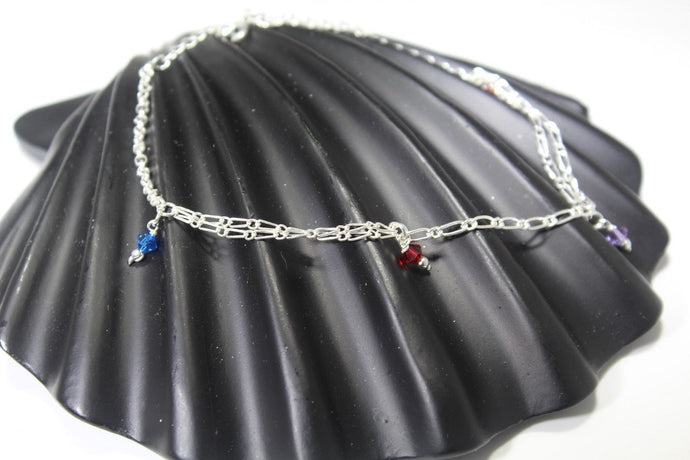 11PC HANDMADE  Solid Silver Payal 925 sbb131 Sterling adult ladies Anklets - Royal Dubai Jewellers
