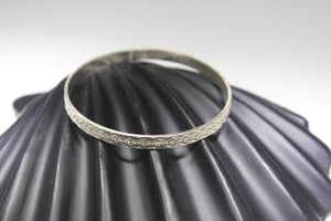 1PC HANDMADE women b80 Solid Sterling Silver 925 size 2.25 inch kara Bangle Cuff - Royal Dubai Jewellers