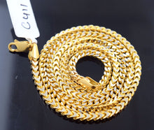 "22k 22ct Solid Gold Italian Franco Design Chain Lobster LOCK LENGHT 20""  c411 - Royal Dubai Jewellers"