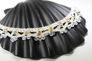 2PC HANDMADE  Solid Silver Payal 925 sbb25 Sterling adult ladies Anklets - Royal Dubai Jewellers