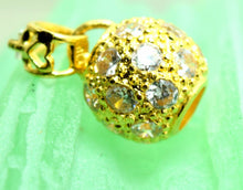 22k 22ct Solid Gold UNIQUE ELEGANT BEAUTIFUL Round BALL Pendant Charm P270 - Royal Dubai Jewellers