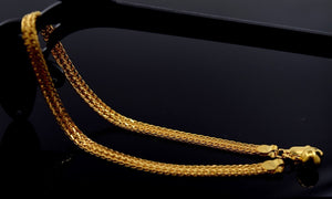 22k 22ct Solid Gold ELEGANT Bracelet  with unique BOX  B339 - Royal Dubai Jewellers