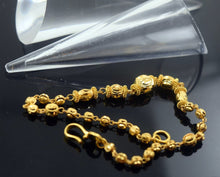 22k 22ct Solid Gold ELEGANT Bracelet length7.5 Inch B401 with unique box - Royal Dubai Jewellers