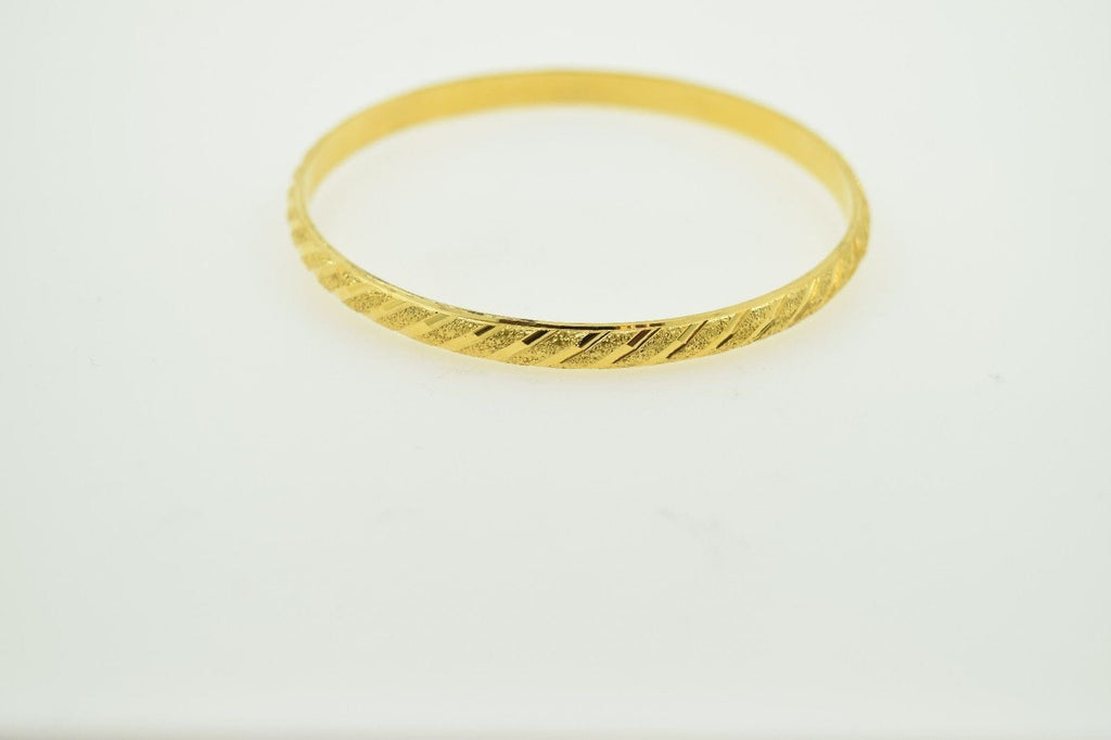 bangle gold il bracelet ca solid bangles listing