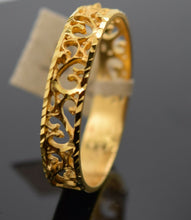 22k Ring Solid Gold Ring Ladies Jewelry Modern Filigree Design Band R1785