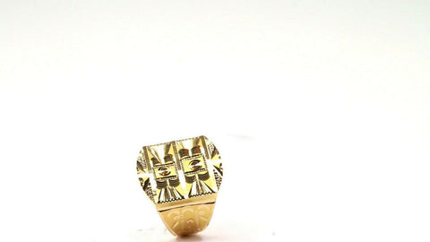 "22k 22ct Solid Gold ELEGANT Simple Mens Ring SIZE 9 ""RESIZABLE"" r1906 