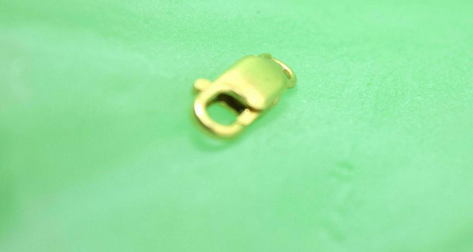 22k Solid Gold 916 CHAIN LOBSTER LOCK FINDINGS CLASP | Royal Dubai Jewellers