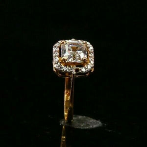 "22k 22ct Solid Gold ELEGANT Charm Ladies Simple Ring SIZE 5.5 ""RESIZABLE"" r2371"