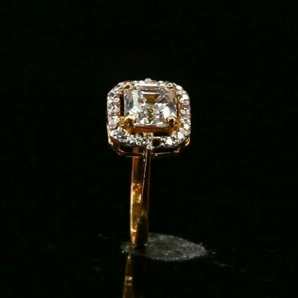 22k 22ct Solid Gold ELEGANT Charm Ladies Simple Ring SIZE 5.5