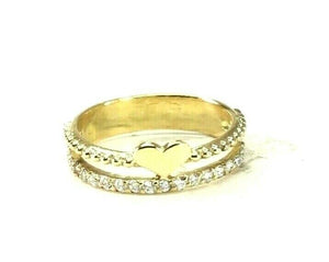 "22k Ring Solid Gold ELEGANT Charm Ladies Band SIZE 8 ""RESIZABLE"" r2934mon"
