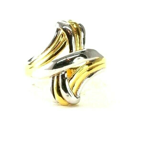 22k Ring Solid Gold ELEGANT Charm Ladies Simple Ring SIZE 7.25