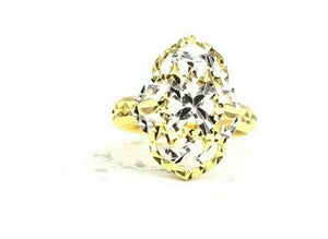 "22k Ring Solid Gold ELEGANT Charm Ladies Floral Ring SIZE 6.75 ""RESIZABLE"" R2611"