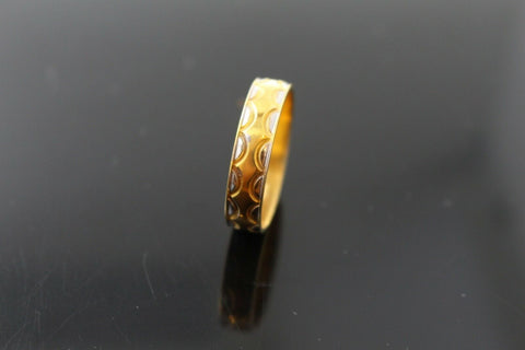 "22k 22ct Solid Gold ELEGANT Charm Ladies Ring SIZE 11.5 ""RESIZABLE"" r1673 