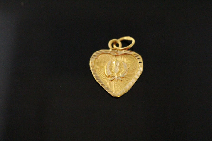 22k 22ct Solid Gold SIKH RELIGIOUS KHANDA ONKAR Pendant  Diamond Cut p998 ns | Royal Dubai Jewellers