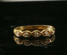 "22k Ring Solid Gold ELEGANT Charm Ladies Simple Band  SIZE 7.5 ""RESIZABLE"" r2145"