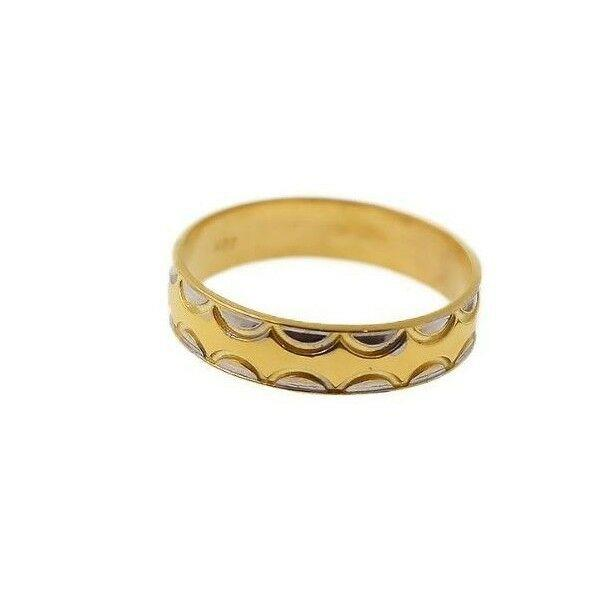 22k 22ct Solid Gold ELEGANT Charm Ladies Ring SIZE 11.5