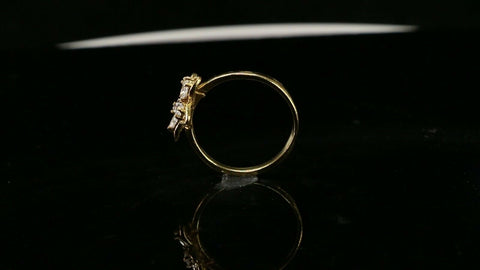 "22k Ring Solid Gold ELEGANT Charm Ladies Ring SIZE 7.5 ""RESIZABLE"" r2931mon"