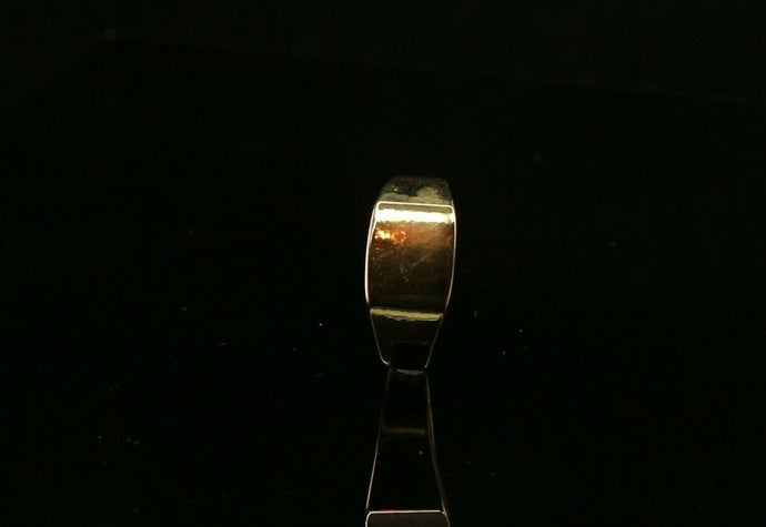 22k 22ct Solid Gold ELEGANT Mens Simple Plain Ring SIZE 9.5