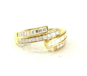 "22k Ring Solid Gold ELEGANT Charm Ladies Simple Ring SIZE 8.25 ""RESIZABLE"" r2504"