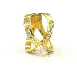 "22k Ring Solid Gold ELEGANT Charm Simple Ring Band SIZE 5.5 ""RESIZABLE"" r2822"