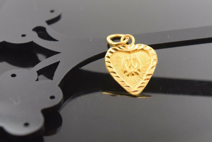 22k Jewelry Solid Gold  Sikh Religious pendant charm locket onkar p486 | Royal Dubai Jewellers