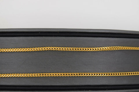 22k 22ct Yellow Solid Gold Chain Rope Necklace Exclusive Palma Design c997 | Royal Dubai Jewellers