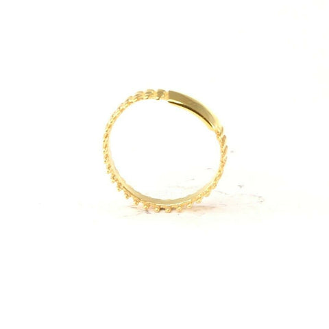"22k Ring Solid Gold ELEGANT Charm Mens Ammo Ring SIZE 10.8 ""RESIZABLE"" r2090 