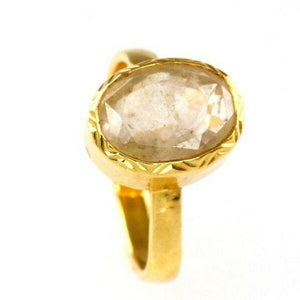 "22k 22ct Solid Gold ELEGANT Charm Mens Astrology Ring SIZE 6 ""RESIZABLE"" r1824 