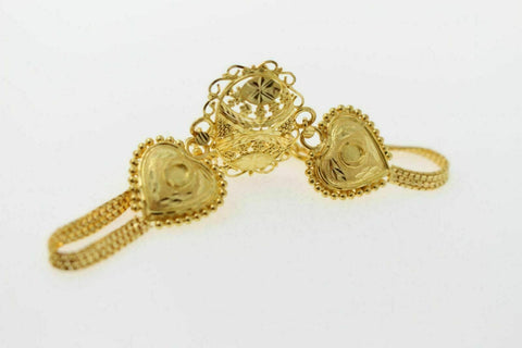 22k 22ct Solid Gold Elegant Antique Women Bracelet B814 | Royal Dubai Jewellers