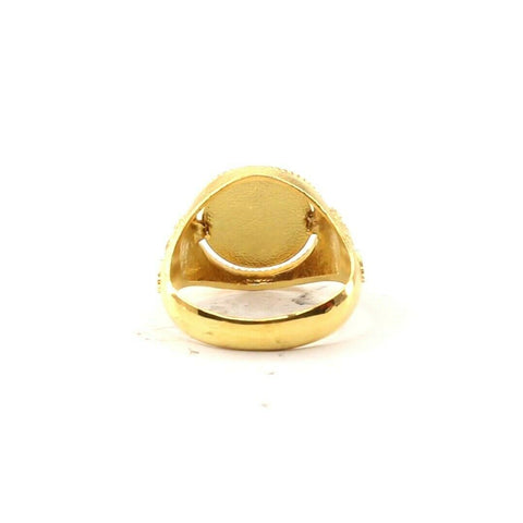 22ct 22k Solid Gold Elegant Phoenix Design Ladies Ring Size R2052mon | Royal Dubai Jewellers