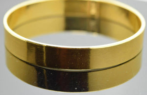 CUSTOM Handmade 22K SOLID GOLD BANGLE BRACELETS BRACELET Cuff pick your size