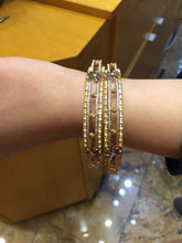 22k 22ct Solid Gold ELEGANT Luxurious Ladies Bangle Modern Design b1002